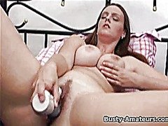 Busty amateur antonie ... from Tube8