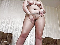 Milf in tights 1 from Xhamster