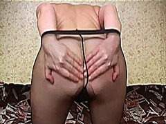 Milf in tights 5 from Xhamster