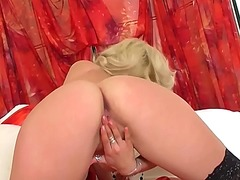 Kiera fingering in thi... from Ah-Me