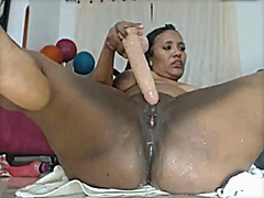 Big breast columbian s...