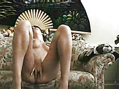 Cutie in living room r... from Private Home Clips