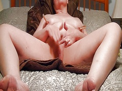 My slut, solo masturba... from Private Home Clips