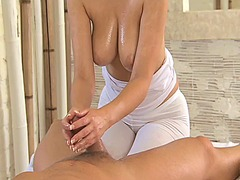 Tube8 - Massage rooms brunette...