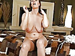 Erin in living room bvr from Xhamster