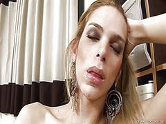 Tgirl tries the longes... from Ah-Me