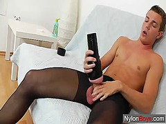 Gay guy teasing his co...