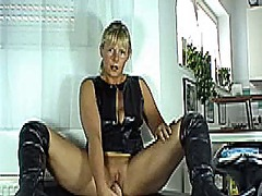 Dirty talk german squirt