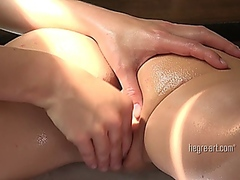 LESBIAN Orgasm Massage from Vporn