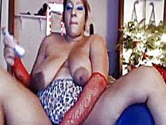 Thick lady large areol...