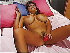 Angeleyes big tits mas... from Xhamster