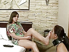 Lesbian foot worship 64 from Xhamster
