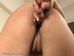 Beautys lustful shaved... from Ah-Me