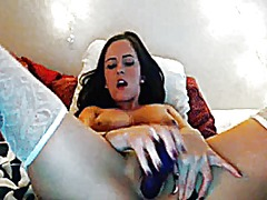Webcam girl play dildo from Xhamster