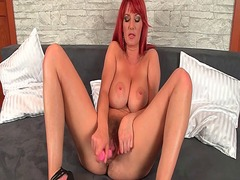 Xhamster - Redhead milf works her...