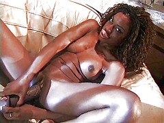 Black slut with big ni...