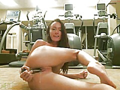 Public play webcam in gym from Xhamster