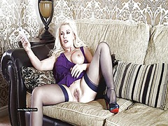 Tube8 - Horny blonde milf has ...