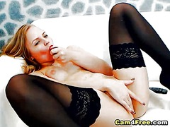 Hot blonde rides her t... from Ah-Me