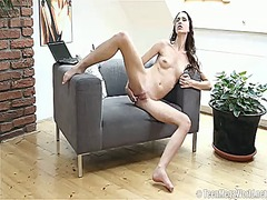 Lida has toy-hungry pussy from PinkRod