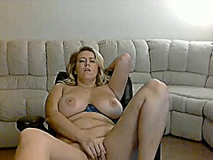 Beautiful busty blonde... from Xhamster