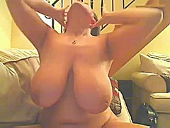 Huge knockers-webcam