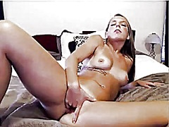Webcam girl masturbate from Private Home Clips