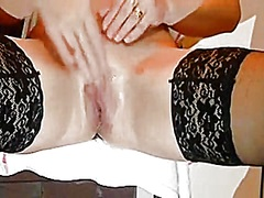 Squirting my pussy from Private Home Clips