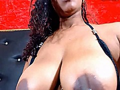 Big black milk filled ... from Xhamster