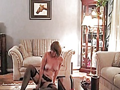 Granny milf in lingeri... from Xhamster