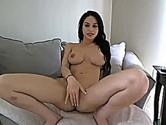 Perfect girl at webcam from Xhamster