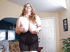 Curvy sharon in a sexy...