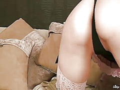 Lingerie-clad solo gir... from BeFuck