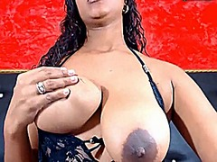 Large dark areola and ...