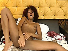 Black curly hair girl ... from Xhamster