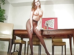 Beauty in hose boasts ... from Ah-Me