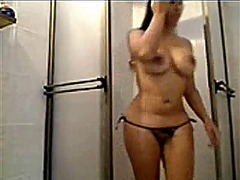 Bathroom show from Xhamster