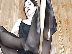 Sweaty pantyhose
