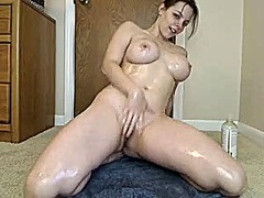 Busty girl does it all... from Xhamster